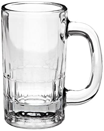 Anchor Hocking 18U 4-3/4 Inch Diameter x 5-5/8 Inch Height, 12-Ounce Beer Mug (Case of 24)
