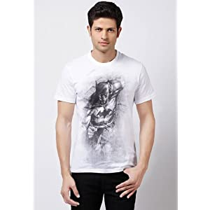 Batman T Shirts White|M