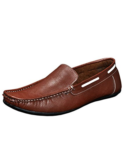 RED-ROSE-BROWN-LOAFER-SHOES-FOR-MENS