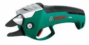 Bosch Ciso Akku-Gartenschere + Ladegerät (3,6 V, max. Ø 14 mm Schneidekapazität)