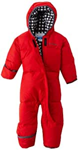 Columbia Snuggly Bunny Bunting Combinaison hiver bébé fille Bright Red FR : 18 mois (Taille Fabricant : 18-24 mois)