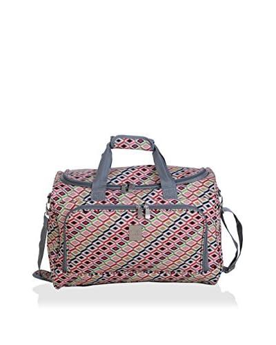 Jenni Chan 17 Tiles City Duffel Bag, Multi