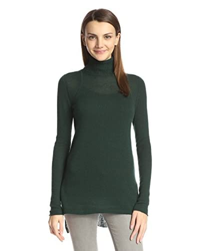 Cullen Women's High-Low Turtleneck Sweater