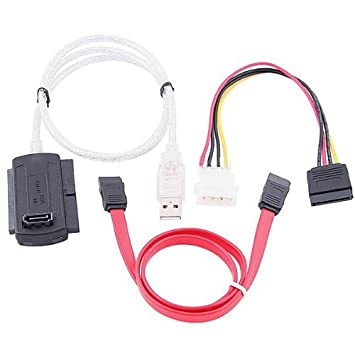 sata pata ide drive to usb adapter converter cable for  sata pata ide drive to usb 2 0 adapter converter cable for 2 5 3 5