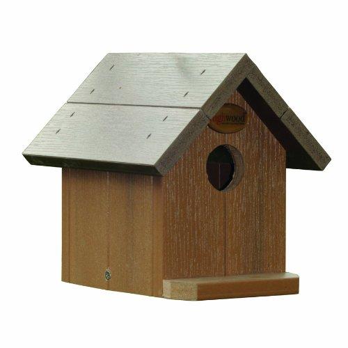 Highwood Craft Bird House, Wood Tone