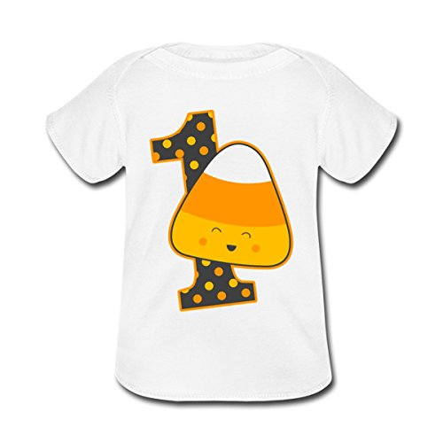 Spreadshirt Baby Candy Corn 1st Birthday T-Shirt