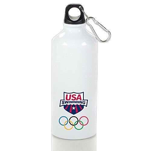 USA Swimming Team Logo 2016 Rio Summer Olympics Brazi Logo  Water Bottle