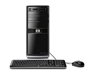 HP Pavilion Elite HPE-250F Desktop PC (Black)