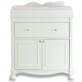 Exceptionnel Disney Princess Changing Table   Antique White