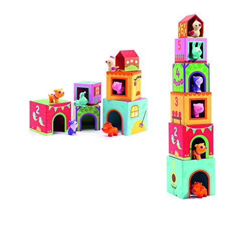 Djeco-Stackable-Cubes-Topanifarm-12-pc