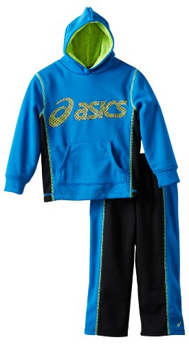 Asics Little Boys' Heritage Set, Electric, 7