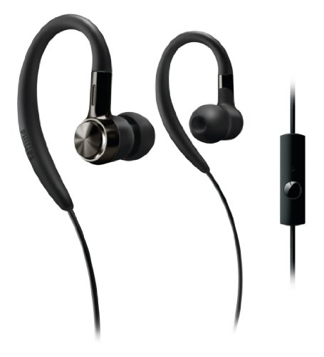 Philips Shs8105A/28 Ear-Hook Headset For Android (Black)