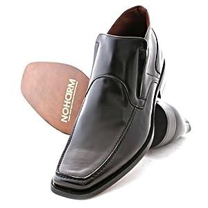 NOHARM Black Slip-on Vegan Ankle Boots
