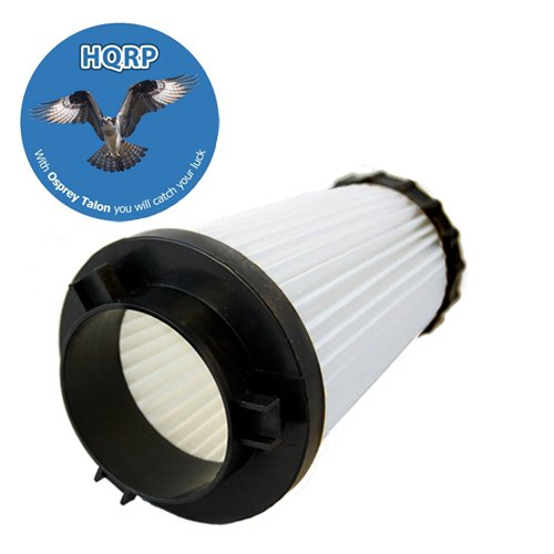 Hqrp Washable & Reusable Hepa Filter For Dirt Devil F2 / 470880 Replacement Plus Hqrp Coaster front-308739