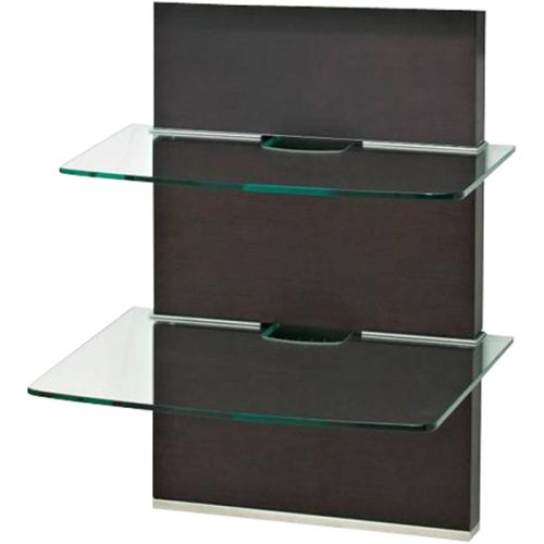 omnimount mwfs adjustable 2 shelf component wall system. Black Bedroom Furniture Sets. Home Design Ideas