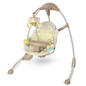 InGenuity Cradle and Sway Swing, Bella Vista (Discontinued by Manufacturer)