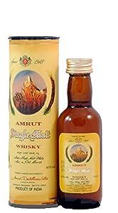 Amrut Single Malt Whisky 40% 5cl Miniature by Shaina's Shop