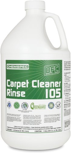 Chemspec DFC1054G Carpet Cleaner/Rinse, 1 Gallon Bottles (Case of 4)