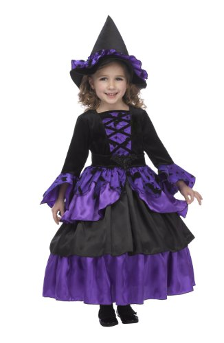Just Pretend Kids Bat Witch Fairy Costume with Hoop and Hat, Small