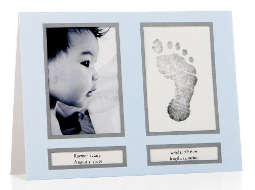 Pearhead Birth Announcements, Blue front-28048