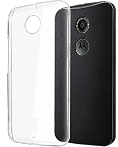 Moto X (2nd Gen) case, Swan (Full Transparent) Crystal Armor Hard Case Back Cover for Moto X (2nd Gen)