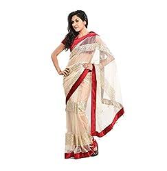 Krishna Emporia Women's Net Designer Saree
