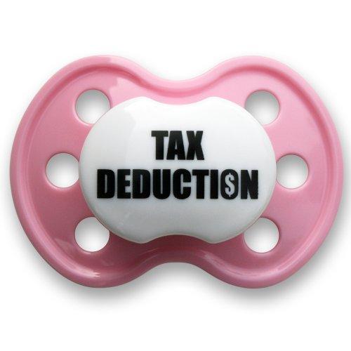 BooginHead Pacifier, Tax Deduction Light Pink