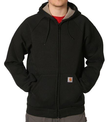 Carhartt 100465 Car-Lux Sweatshirt Black Mens Hooded Top