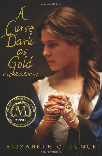 Cover of A Curse Dark As Gold