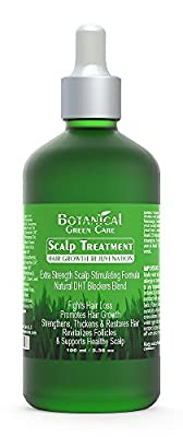 Cayenne Hair Loss Treatment. Premium Organic Scalp Stimulating Botanical Formula