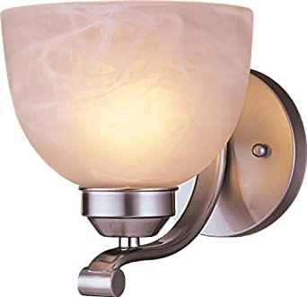 "Minka Lavery ML 5421 1 Light 6.5"" Width Wall Sconce from the Paradox Collection, Brushed Nickel"