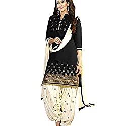 Shree Hari Creation Women's Poly Cotton Unstitched Dress Material (3842_Multi-Coloured_Free Size)