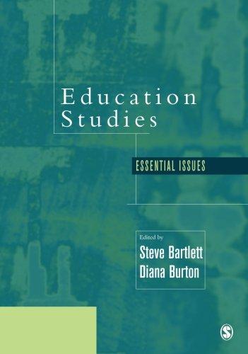 Education Studies: Essential Issues