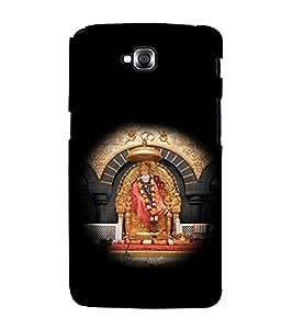printtech Sri Sainath Sai Baba Back Case Cover for LG GPro Lite / LG G Pro Lite Dual D686