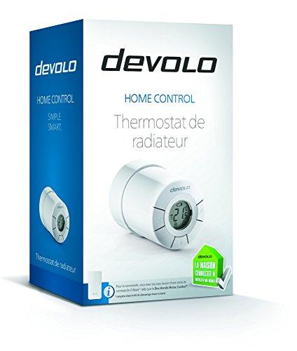 thermostat de radiateur devolo home control pour une gestion sans fils. Black Bedroom Furniture Sets. Home Design Ideas