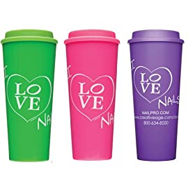I Love Nails Go Cup, 16 oz.