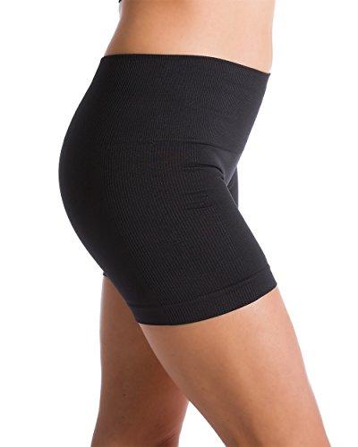 Homma-Womens-Seamless-Compression-Heathered-Yoga-Shorts-Running-Shorts-Slim-Fit
