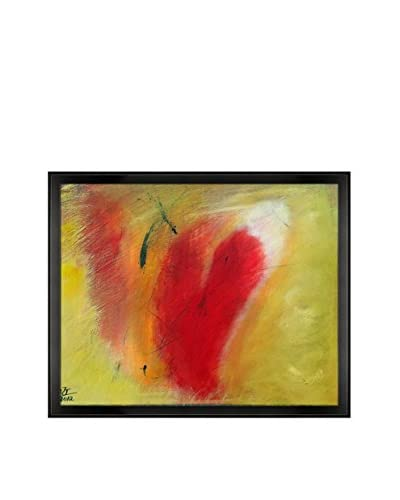 Jude Barkley My Heart Framed Canvas Print, Multi, 18.5 x 22.5