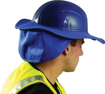 OccuNomix One Size Fits All Royal Blue Cotton Hard Hat Shade andao one size fits all