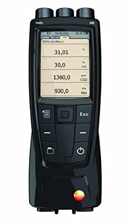 Testo 0563 4800 High End IAQ Measuring Instrument with EasyClimate PC