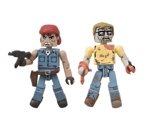 The Walking Dead: Minimates Series 5: Caesar Martinez & Geek Zombie