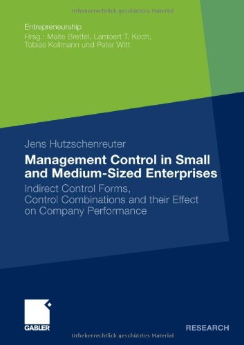 Management Control in Small and Medium-Sized Enterprises (Entrepreneurship)