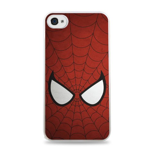 315 Spiderman Apple Iphone 5C Hardshell Case - White front-941206