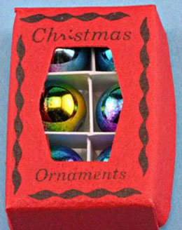 Dollhouse XMAS ORNAMENTS IN BOX - 1