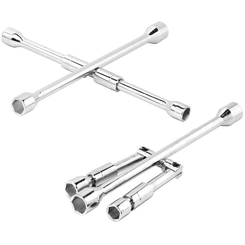 Wilmar Performance Tool W7 4 Way Folding Lug Wrench
