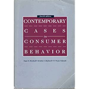 Contemporary Cases in Consumer Behavio