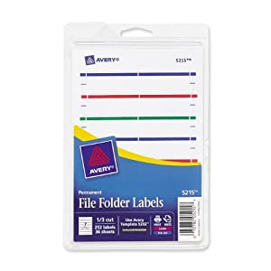smead label templates - avery print or write file folder labels for