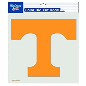 Buy NCAA Tennessee Volunteers 8-by-8 Inch Diecut Colored Decal by WinCraft