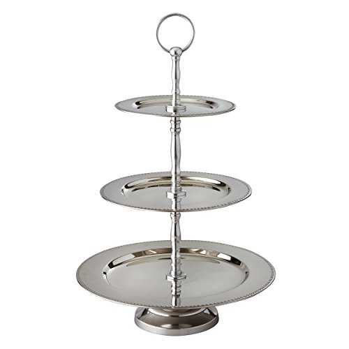 Elegance 3-Tier Beaded Buffet Serving Stand (Buffet Server 3 Tier compare prices)