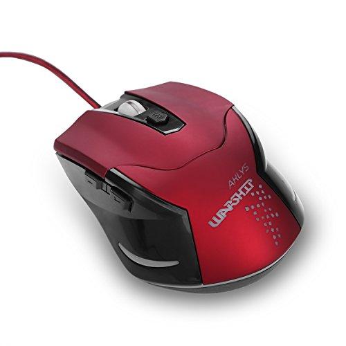 KAIMENG multicolore respirazione luce LED 1200DPI ergonomico USB cablato Gaming Mouse con 6tasti e connettività intelligente